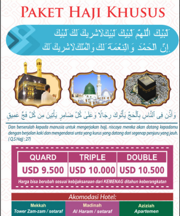 Haji ONH Plus Khusus Alhijaz Tours & Travel