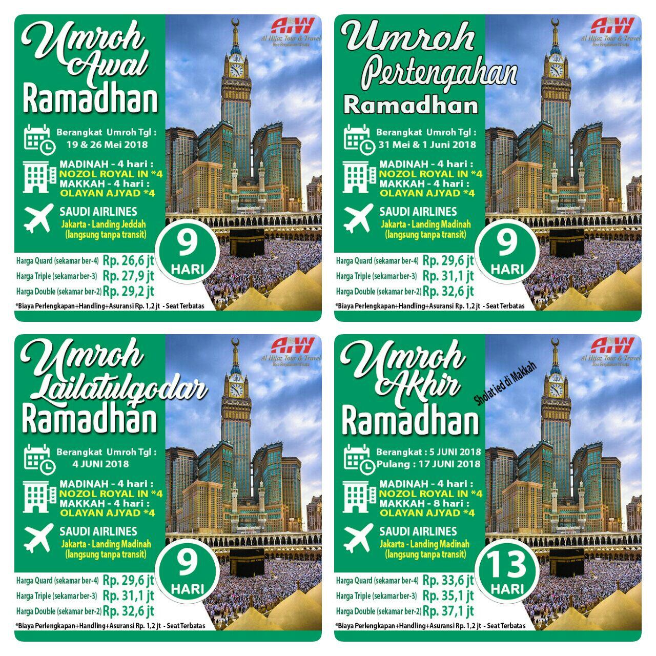 Info Paket Umroh Ramadhan