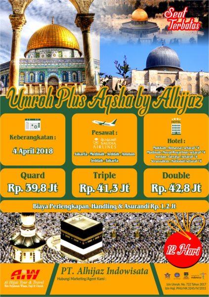 Paket Umroh Plus Al Aqsa Jerussalem