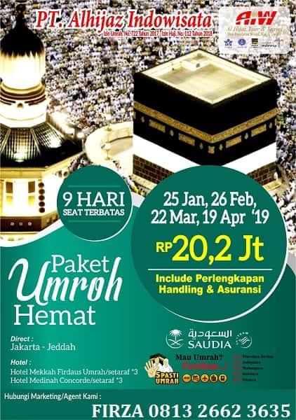 Paket Umroh Hemat 2019