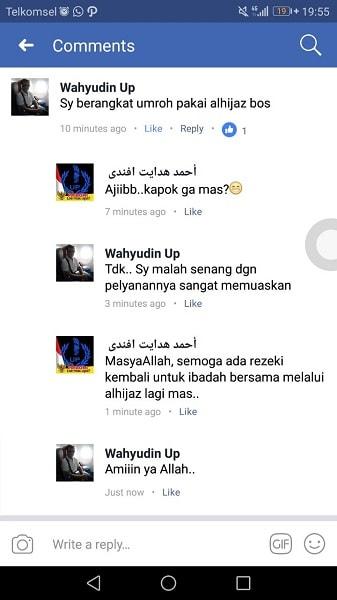 Testimoni Jamaah Alhijaz
