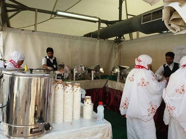 Makan di Maktab Haji Khusus