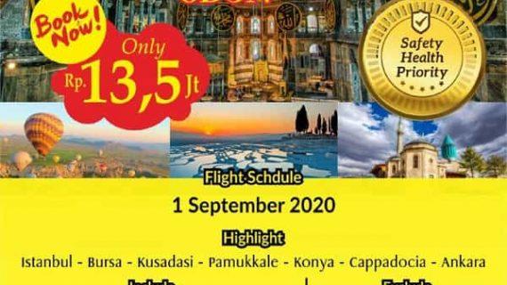 Tour Turki 2020 2021 | Alhijaz 0813 2662 3635