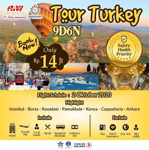 Tour Turki 2020 2021