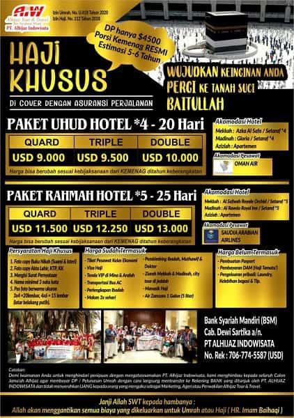 Daftar Haji ONH Plus
